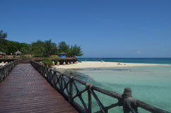 Paradise beach Stock Photography