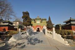 The paradise in Beihai imperial garden Stock Photos