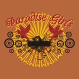 Paradise car Royalty Free Stock Photography