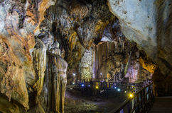 Paradise cave Bo Trach, Quang Binh, Vietnam Stock Image