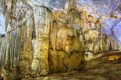 Paradise cave at Dong Hoi, Quang Binh Royalty Free Stock Photo