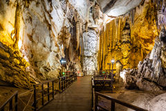 Paradise cave at Dong Hoi town Stock Photography