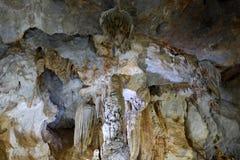 Paradise cave, Quang Binh, Vietnam travel, heritage Stock Images