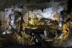 Paradise cave, Quang Binh, Vietnam travel, heritage Royalty Free Stock Photo