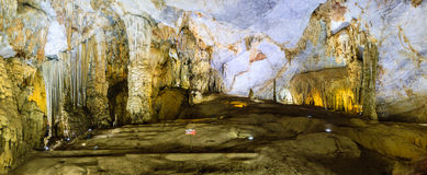 Paradise cave at Vietnam Stock Images