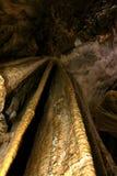 Paradise cave Vietnam impressive limestone formations Royalty Free Stock Photography