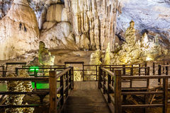 Paradise cave at the Vietnam Royalty Free Stock Photo