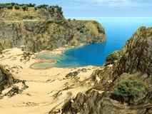 Paradise cliffs Royalty Free Stock Photos