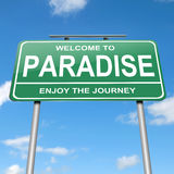 Paradise concept. Stock Image