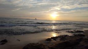Paradise Cove dusk royalty free stock photos