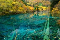 A Paradise on Earth. Jiuzhaigou, China Stock Image