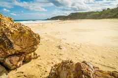 Paradise on earth at Mallacoota in Australia Stock Image