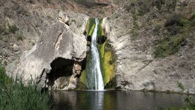 Paradise Falls Thousand Oaks California stock video footage