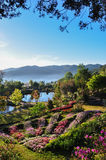 Paradise garden. The beautiful scenery of paradise garden Royalty Free Stock Photos