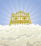 Paradise gate royalty free illustration