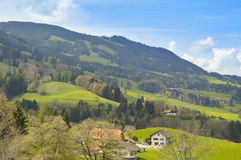Paradise in Gruyerse, Switzerland, Europe Royalty Free Stock Photos