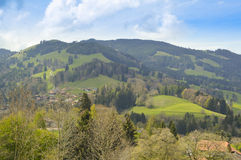 Paradise in Gruyerse, Switzerland, Europe Stock Image