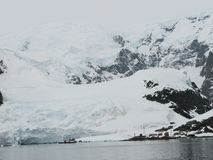 Paradise harbour Antarctica Stock Photography