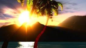 Paradise on Hawaii Island Royalty Free Stock Image
