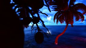 Paradise on Hawaii Island Royalty Free Stock Photos