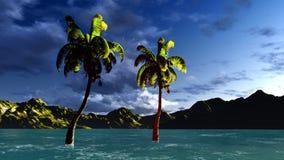 Paradise on Hawaii Island Stock Photo