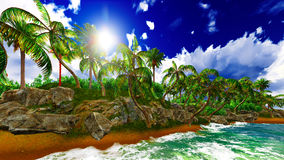 Paradise on Hawaii Island Royalty Free Stock Images