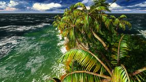 Paradise on Hawaii Island Stock Image