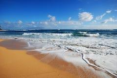 Paradise. Hawaiian beaches on the island of Kauai royalty free stock photo