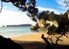 Paradise hidden beach Stock Images