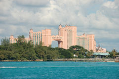 Paradise Hotel, Nassau. Atlantis and Paradise Hotel, Nassau, Bahamas Stock Photos