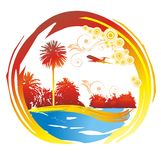 Paradise island. Royalty Free Stock Photo