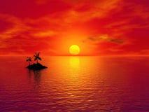 Paradise island Royalty Free Stock Photo