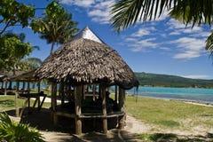 Paradise Island. In the south sea, samoa Royalty Free Stock Photography
