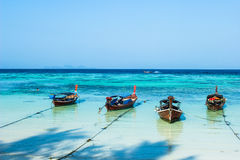 Paradise island and beach in Thailand. Royalty Free Stock Photography