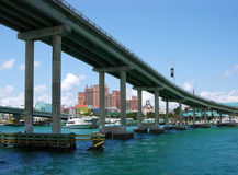 Paradise Island Bridge Stock Photography