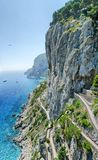 Paradise Island of Capri Stock Photography