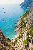 Paradise on island Capri Stock Photos