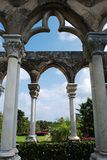 Paradise Island Cloister Royalty Free Stock Photography