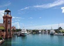 Paradise Island Harbour Royalty Free Stock Image