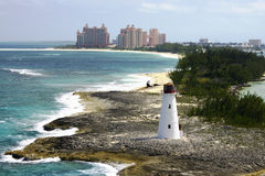 Paradise Island Lighthouse Stock Photos