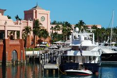 Paradise Island Marina Stock Photo