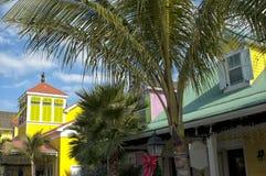 The paradise island nassau beach Royalty Free Stock Image