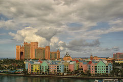 The paradise island nassau beach Stock Photography