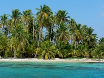 Paradise island, panama Stock Photo