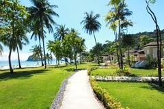 The paradise island in Trang Province , Thailand. Paradise island in Trang Province , Thailand Stock Photography