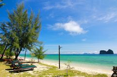 The paradise island in Trang Province , Thailand Stock Images