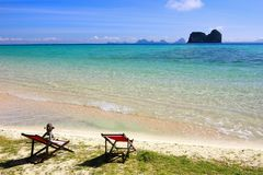 The paradise island in Trang Province , Thailand Royalty Free Stock Image