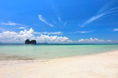 The paradise island in Trang Province , Thailand Stock Photo