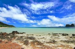 The paradise island in trang thailand Stock Image