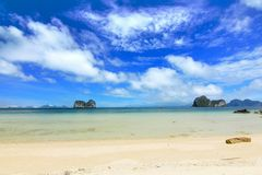 The paradise island in trang thailand Stock Photography